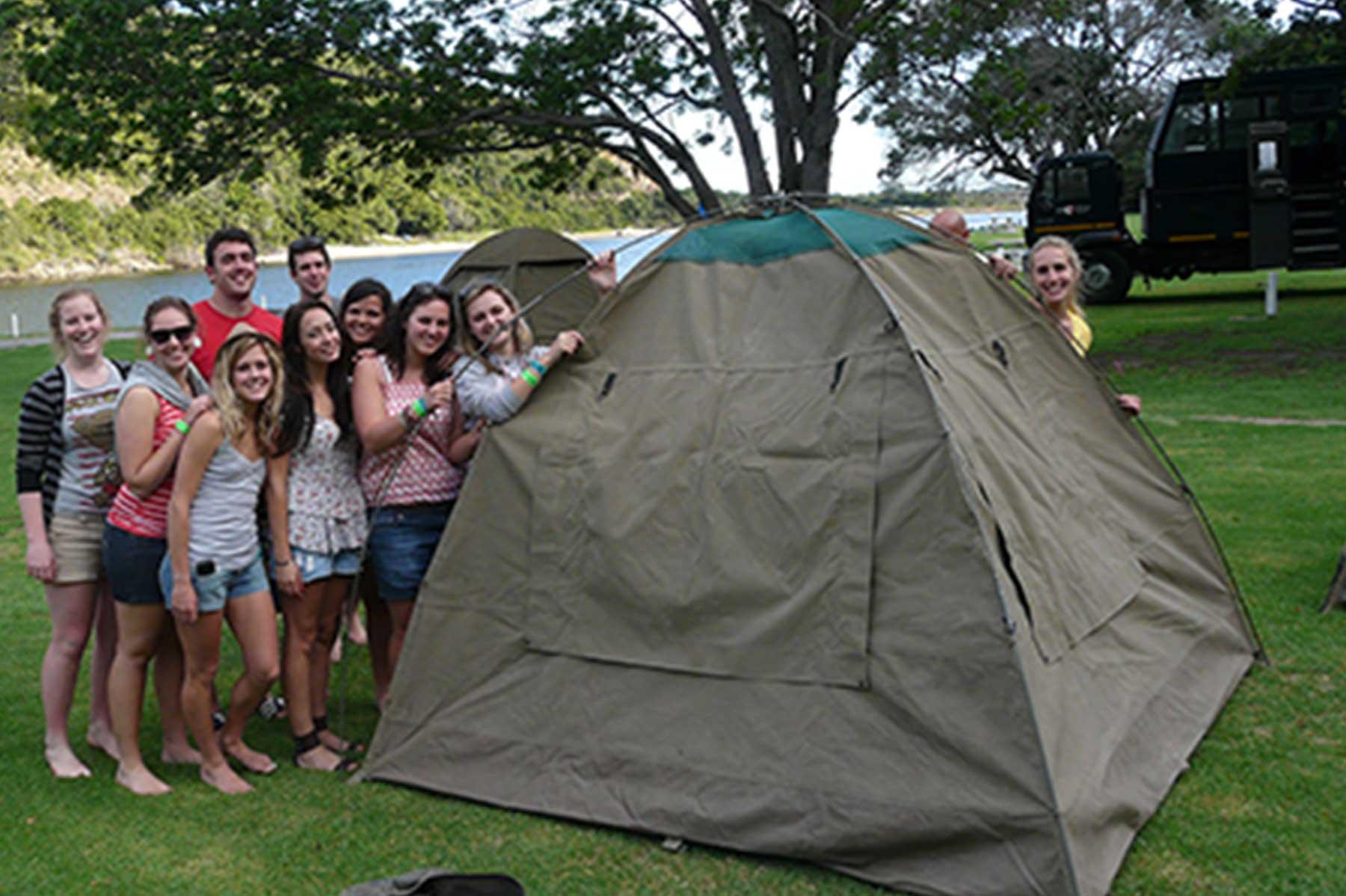大篷车露营帐篷